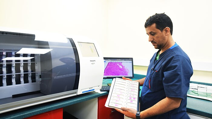 Philips teams up with Al Borg Laboratories to help reduce the time to diagnosis for cancer patients in Saudi Arabia